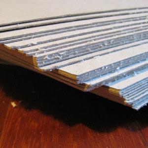 Imballaggi in cartone - Cartoncino grigio pressato